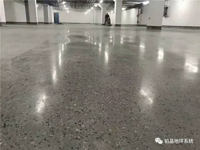 Concrete ShinningFlat Floor
