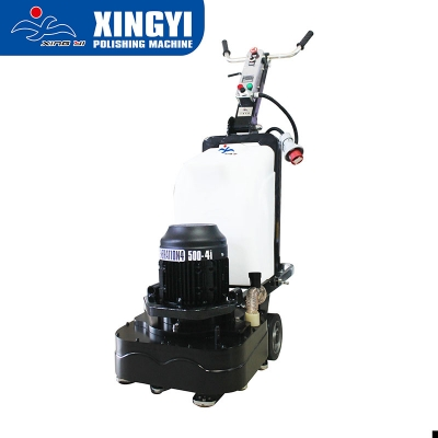 Manual wet dry concrete floor grinding polishing machine